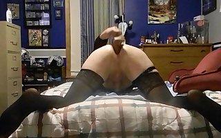 Mikayla McKenzie and her dildo