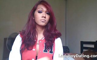 Beautiful Ladyboy on cam